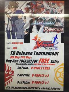 TD release tournament