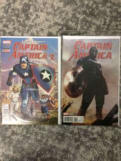 Captain America #1 & Road to War
