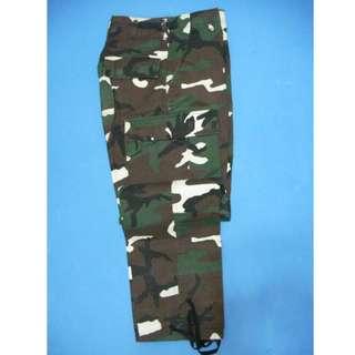 美軍 公發M65 style叢林迷彩長褲