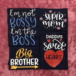 Customized Family Tees Shirt