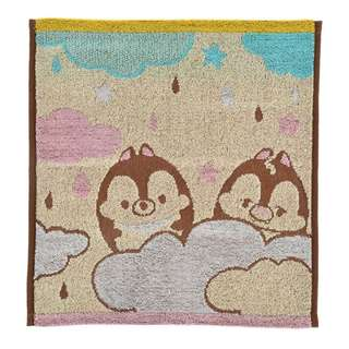 Japan Disneystore Disney Store Disney Ufufy Chip & Dale Heart Balloon Guest Towel
