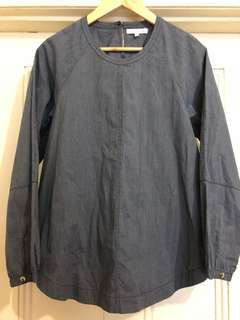 Size 4 Lee Mathews oversized shirt
