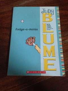 Judy Blume Fudge A Mania