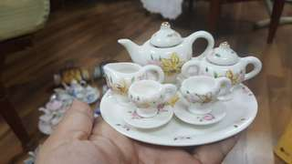 Miniature Teaset with tray