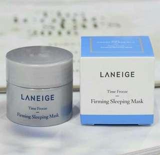 Laneige - Firming Sleeping Mask 10ml  Rp. 45.000