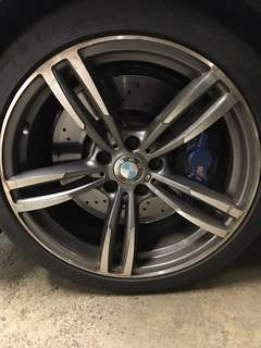BMW 19 inch rims and tyres
