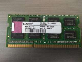 Laptop Ram DDR3 2 Gb