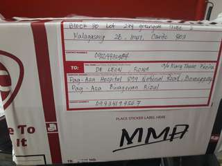 Proof of Shipment for Rona De Leon