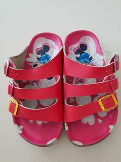 Girls Minnie Sandals.  Size 19