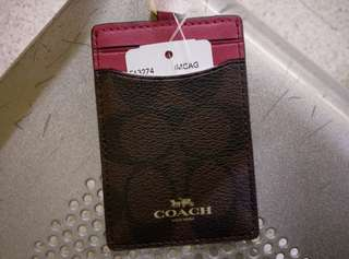 Coach card holder,100%真品,全新