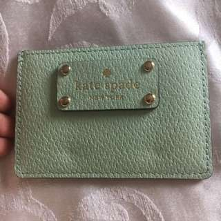 Kate spade card holder authentic new