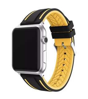 Soft Silicone Band Strap for Apple Watch Series 1, 2 & 3
