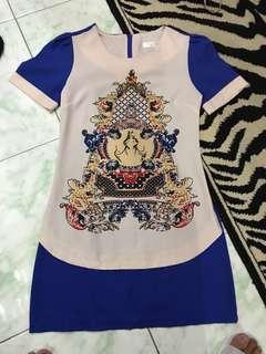 "REPRICED!! ""Dolce & Gabbana/ D&G"" inspired Structured mini dress"