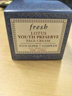 Fresh Lotus Youth Preserve Face Cream (travel size)