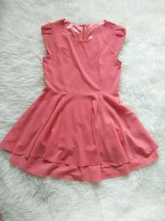 Peach dress forever21 look alike