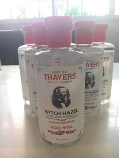 Thayers witch hazel aloe vera formula rose petal toner