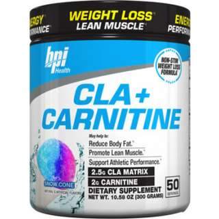 BPI Sports CLA + Carnitine 50 Servings