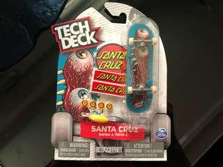 🚚 Tech deck 手指滑板 Santa Cruz 少見 rare 滑板 小物 滑板 品牌
