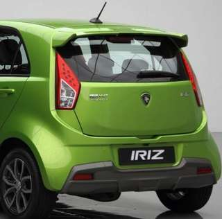 Proton Iriz spoiler with colour