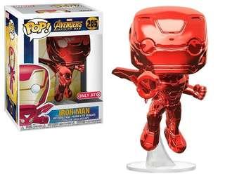 Funko Pop Iron Man Red Chrome [PO]