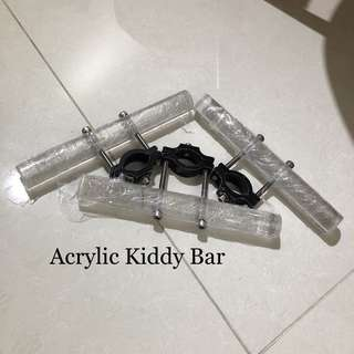 Acrylic kiddy bar (One piece)