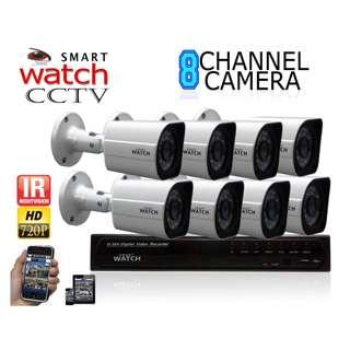 CCTV 720P HD Package (8 B013W bullet Camera)