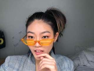 Yellow Tinted Sunglasses