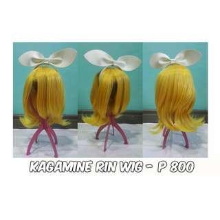 [RIN KAGAMINE WIG] Rin Kagamine Wig