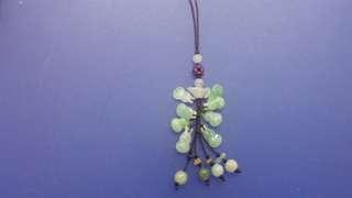玉胡蘆子手串,可作吊咀,電話繩,在裕華國貨玉器部賣,未用過
