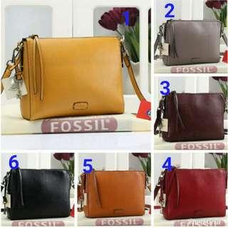 Fossil Emma Crossbody Bag Soft Leather Clemente Like Orginal