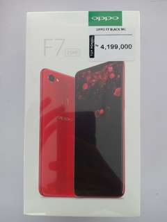 Oppo F7 4GB Diamond Black, Masih Segel Dus