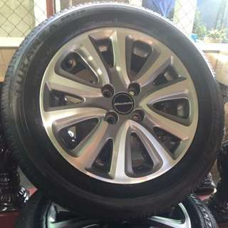 Modulo 175 65 R15 Rims and Tires