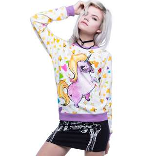 GSS Sale 80% off- Iron Fist Pony Pullover Crew