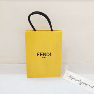 Fendi Paperbag Authentic branded paper bag original