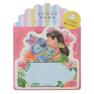 Japan Disneystore Disney Store Lilo & Stitch Sticky Memo