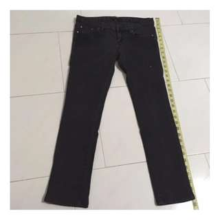 G2000 Black Sequins Pants Size 32