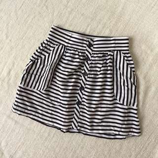 Forever 21 Striped Skirt