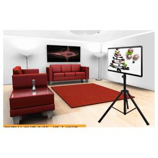 (TRK-H44) Tripod TV Stand for Display Up to 47″  Whatsapp 84984312