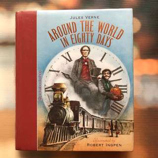 Around the World in 80 Days - Jules Verne - Robert Ingpen