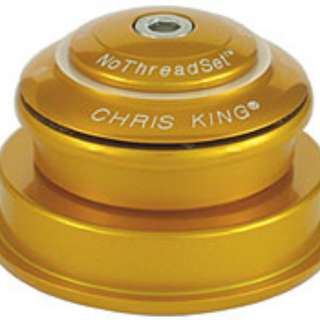 Chris King® InSet™ 2 GripLock™ Headset - Tapered (I2) - Gold | Pink