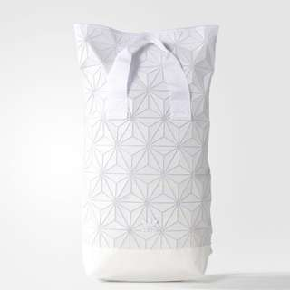 Adidas X Issey Miyake White Backpacks