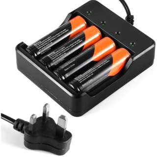 (LD918)四节电池充电器 4节2600mah电池