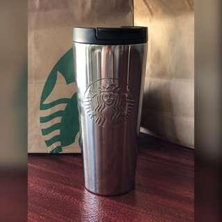 Starbucks Silver Stainless Steel Tumbler