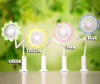 USB ADJUSTABLE CLIP FAN