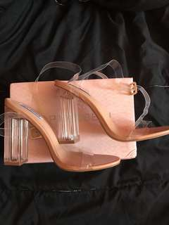 Fashion Nova clear heels - PRICE DROP
