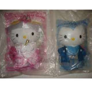 Hello Kitty Couple Plush Stuff Toy Sanrio