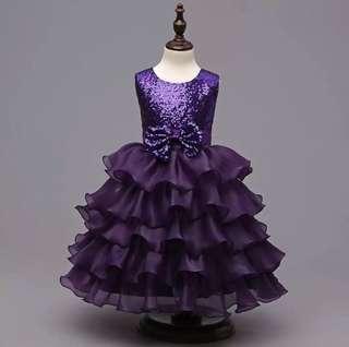 Barbie Clothes Purple Tutu Dress