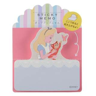 Japan Disneystore Disney Store Alice in Wonderland & Dinah Sticky Memo