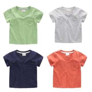 Boys V Neck T-shirt