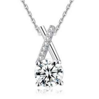 S925 Silver Diamond Necklace